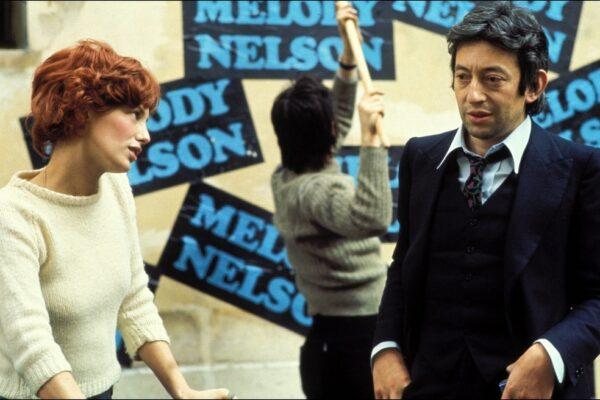 Serge Gainsbourg et Jane Birkin photo Histoire de Melody Nelson