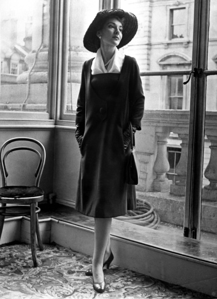 Maria Callas photo portrait