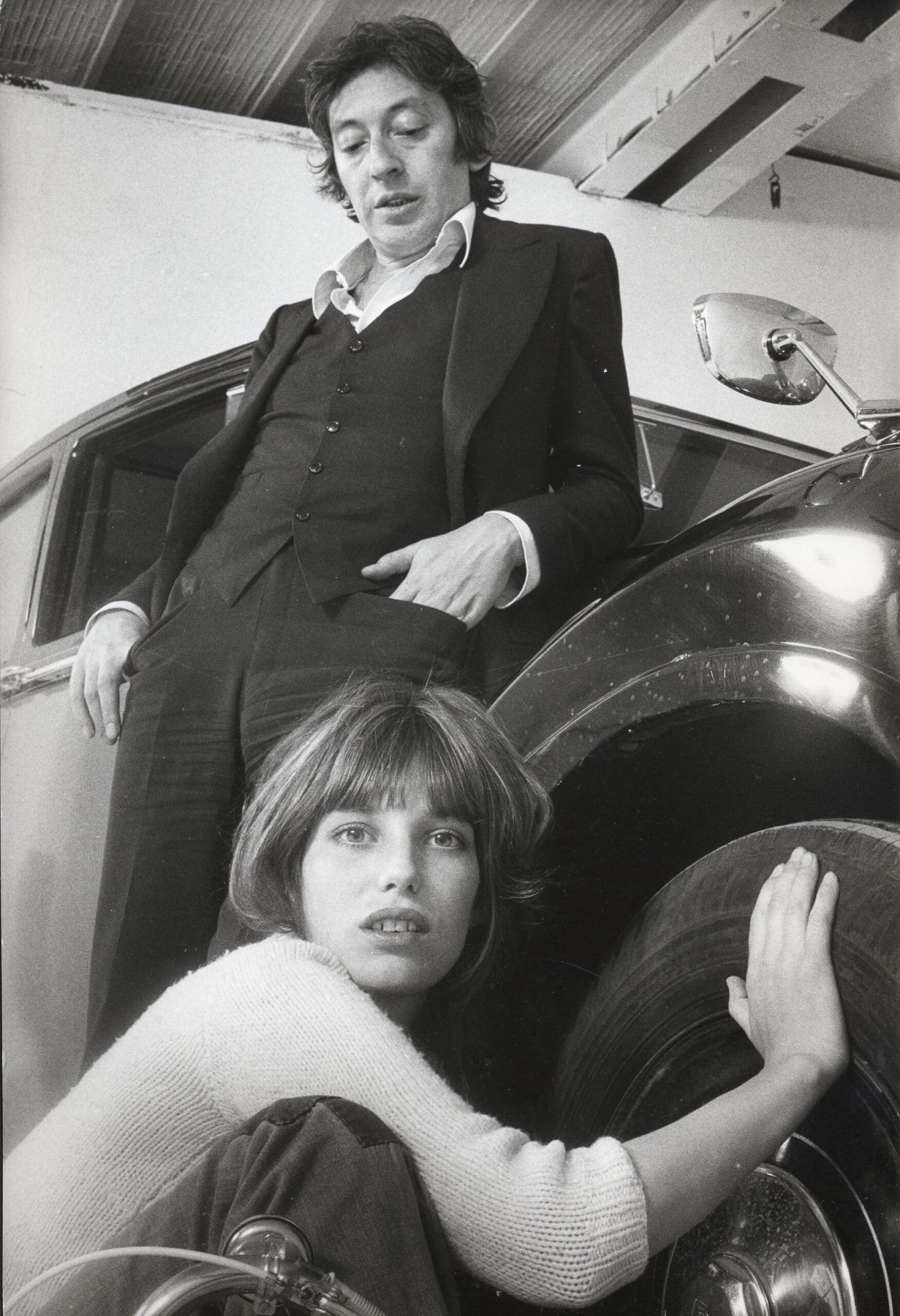 Serge Gainsbourg Jane Birkin shooting photo Histoire de Melody Nelson