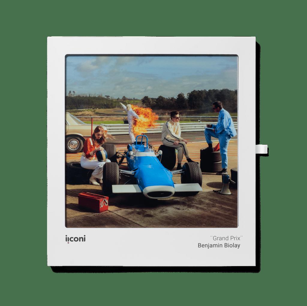 Benjamin Biolay Grand Prix cadre iiconi