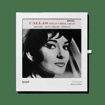 Maria Callas sings Verdi Arias cadre iiconi