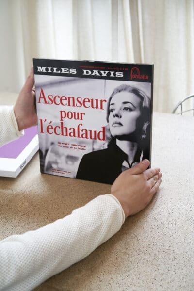 Miles Davis Ascenseur pour l'échaufaud cadre iiconi