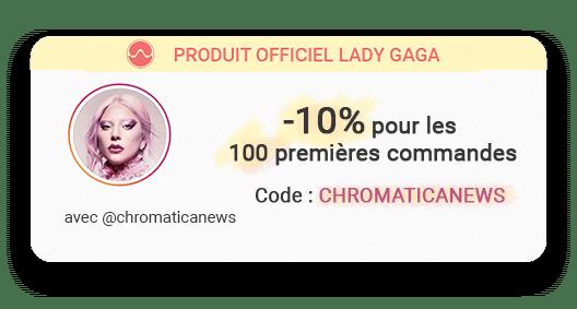 Chromatica news code promo