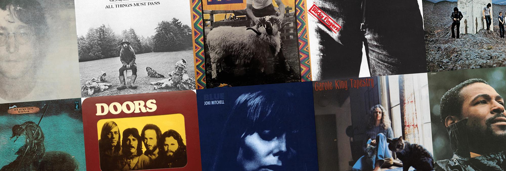 Année 1971 : une année fantastique de musique