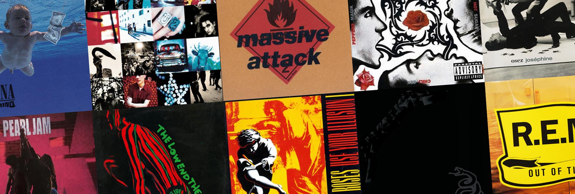 Les 10 albums essentiels de 1991