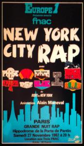 Affiche du New York City Rap